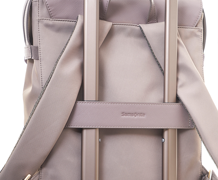 Samsonite  zalia 後背包 黑 details | Samsonite